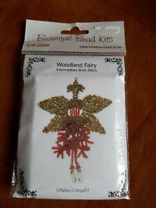 Seed beading kit . Woodland Fairy