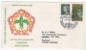 1973 Dec 29th. Souvenir Cover. 10th Australian Jamboree Woodhouse.