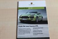 99430) Porsche Cayenne GTS - Porsche News - Prospekt 02/2012