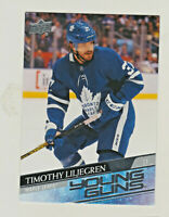2020-21 Upper Deck YOUNG GUNS #248 TIMOTHY LILJEGREN RC Rookie Maple Leafs