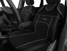 2 ECO LEATHER FRONT SEAT COVERS for VOLKSWAGEN VW PASSAT