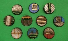 Warhammer 40K Resin 25mm Industrial Base Set (20)