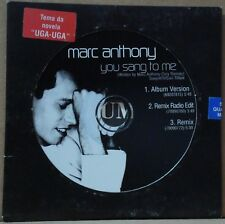 MARC ANTHONY You Sang To Me PROMO EDITION Single CD BRAZIL NEW SEALED!