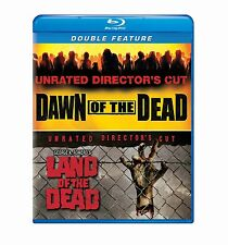 DAWN OF THE DEAD / LAND OF THE DEAD unrated -  Blu Ray - Sealed Region free