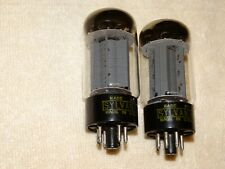 2 x 6L6gc Sylvania Tubes *Very Strong Pair*
