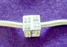 Adorare Charm - White - Frederic Strass Sterling Silver & Swarovski Crystal