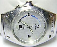 mens Vintage Seiko Kinetic Calendar Date watch model # 5M42-0E39 parts repair