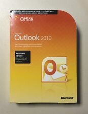 MS Outlook 2010 AE Vollversion deutsch inkl. 2ter Installation