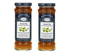 St.Dalfour Royal Fig Deluxe Fruit Spread 10 oz  Pack of 2