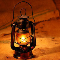 "10"" Retro Style Oil Lantern Garden Outdoor Camp Kerosene Paraffin Hurricane Lamp"