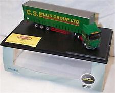 Daf 105 Curtainside C.S.Ellis Group Ltd 1-76 scale New in clear case ltd ed