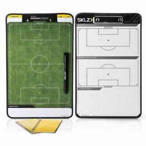 Sklz Magnacoach Soccer / Football Double-sided Coaches Whiteboard