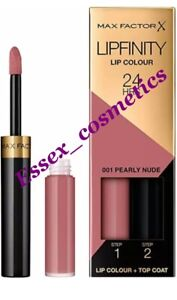 Brand New Max Factor Lipfinity Lip Colour 24HR -  Choose Your Shade
