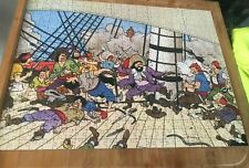 TINTIN PUZZLE COMPLET  TBE 500 PIECES PLUS SA GRANDE CARTE