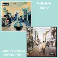 Oasis - Albums Bundle - Definitely Maybe / Morning Glory - 2 x Vinyl LP *NEW*