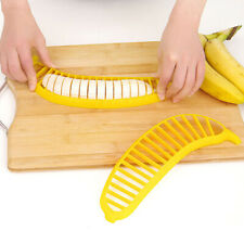 Creative Banana Cutter fruit slicer kitchens tool supplies Plastic Cutting Tools