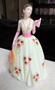 "ROYAL DOULTON Figurine  "" Caroline ""   18cm / 7"" High   Excellent Condition"