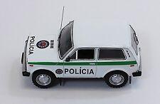LADA NIVA VAZ 2121 1993 SLOVAK REPUBLIK POLICE ISTMODELS IST118 1/43 SLOVAQUIE