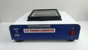 U.V Transilluminator, Bench top Dual Wavelength Display Instrument College Type