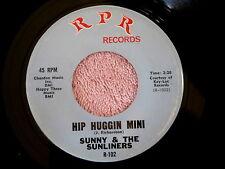 SUNNY  & THE SUNLINERS~HIP HUGGIN MINI~R P R~ NEAR MINT~NORTHERN SOUL 45