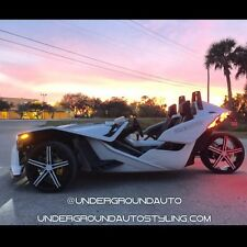 POLARIS SLINGSHOT RIMS CUSTOM WHEELS TWO 20'' WHEELS, ONE 22'' WHEEL & TIRES
