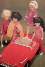 """Knitting Pattern SINDY BARBIE TYPE TEENAGE DOLLS Clothes OUTFIT 11.5"""" Doll"""