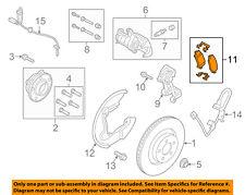 FORD OEM 15-18 Mustang Brake-Rear-Disc Brake Pads FR3Z2200H
