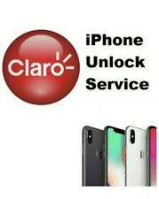 CLARO IPHONE ALL MODELS PREMIUM UNLOCK SERVICE 12-48HRS ALL COUNTRIES SUPPORTED