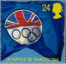 GREAT BRITAIN -1992-  British Olympic Association Logo - Barcelona '92  Sc #1451