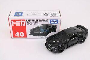Takara Tomy TOMICA No.40 Chevrolet Camaro Diecast Toy Car Japan Scale 1/66