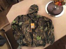 Camo lightweight fleece lined hoodie medium brand new