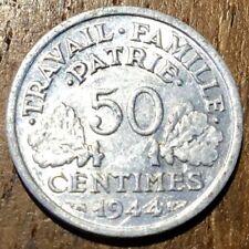 PIECE DE 50 CENTIMES BAZOR 1944 B (379)