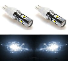 LED Light 30W 921 White 5000K Two Bulbs Back Up Reverse Plug Play Stock Fit Lamp
