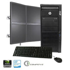 HP Z820 Workstation Intel E5-2640 2.5GHz/ Nvidia NVS440/24GB RAM/ 1TB HDD/ Win10