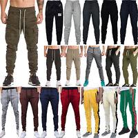 Men Slim Fit Jogger Gym Sport Pants Tracksuit Bottom Trousers Jogging Sweatpants