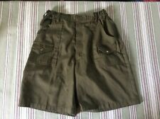 Boy Scout Official Olive Uniform Cargo Shorts Size 20