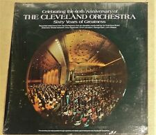 """STILL SEALED"" VINYL LP / THE CLEVELAND ORCHESTRA / CELEBRATING THE 60TH ANNI."