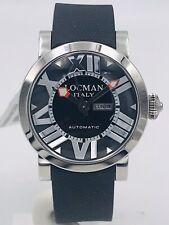 Orologio Locman Toscano 293KK/660 Acciaio/Gomma Automatico Scontatissimo Nuovo