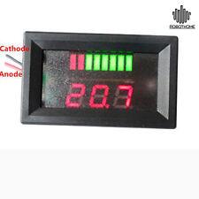 Charge Level Indicator Voltmeter for 12V 5-15mA Lead-acid Battery E Indicador