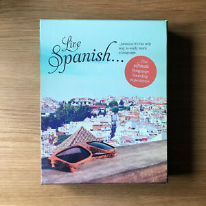 Live Spanish Language Course Book Audio Journal Online Subscription Learn Speak