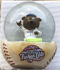 New Hampshire Fisher Cats - Fungo Snow Globe Christmas in July Stadium Giveaway