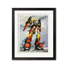 Gundam Giant Super Robot Poster Print 0730