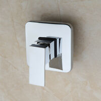 US Bathroom Simple Shower Control Valve Mixer Faucet 1 Handel Wall Mount Chrome