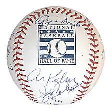 MLB Hall of Fame Multi Signed HOF ROMLB Baseball Proof Beckett BAS LOA Autograph