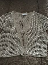 Ladies Next Sequin Shrug, Size 10
