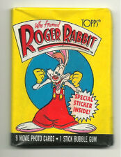 Who Framed Roger Rabbit Movie Trading Cards (Topps, 1988) Wax Pack