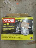 "Ryobi - P507 18V ONE+ 6-1/2"" Cordless Circular Saw (No Blade Included)"