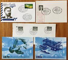 Luftpost–Ausstellung Dresden 91/ADBS-Tage Düsseldorf 73/Air mail UK 1870/1911