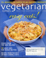 VEGETARIAN TIMES RECIPE March 2007 # 348 MACARONI & CHEESE Ireland PEANUT BUTTER