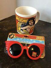 Wonder Woman  Mug/ Coffee Cup-D.C. Comics Bows to No Man & sunglasses